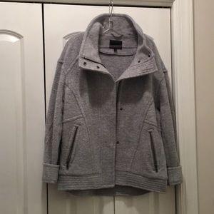 Banana republic grey coat size L